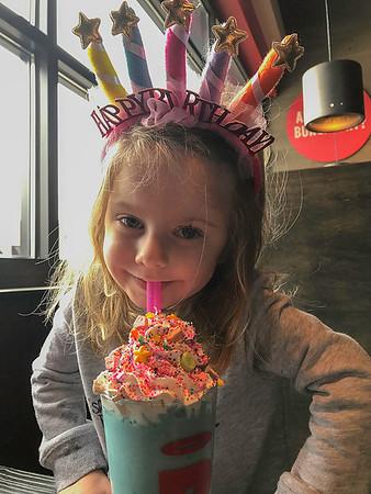 Miley's 4th Birthday