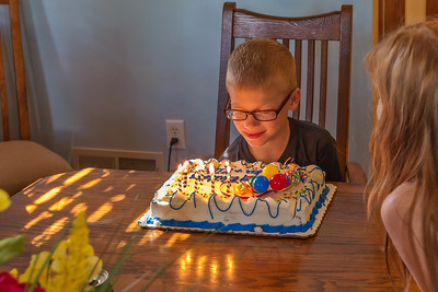 Parkers Eighth Birthday
