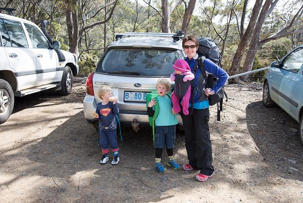 Family Bushwalk Mt Field