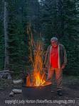 Phil at the Campfire, Monarch Park, Colorado