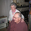 My dad and mum (Isobel) in their home in 2008 just prior to her fall and eventual passing (Alzheimers)