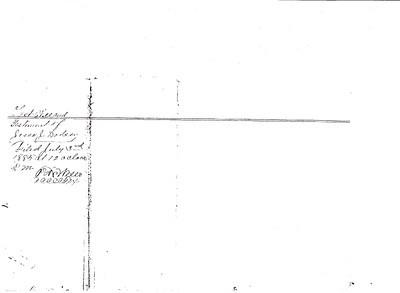 1883 will - Jessie J  Dodson pg 1
