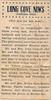 1935 article - Leonard and Linuel Duncan graduate from grammar school (Lometa Reporter 5-31-1935)