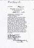 DEPARTMENT OF INTERIOR INFORMATION REQUEST - 1918<br /> A letter to the Adjutant General of the State of Texas requesting information on Andrew Mather's service regarding his participation in battle against marauding Indians or Mexicans during the Indian Wars.