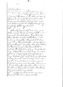 1883 will - Jessie J  Dodson pg 2
