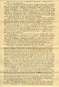 1891 - Dodson land lawsuit 2