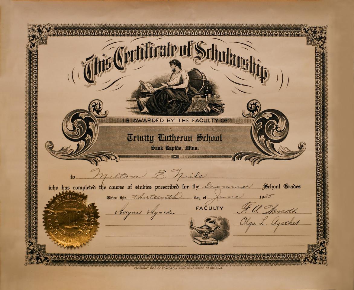 Milt Diploma