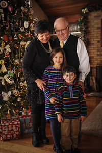12-29-17 Tom and Maryln Edwards with grandchildren Phoebe and Ivan Edwards-Leeper-3
