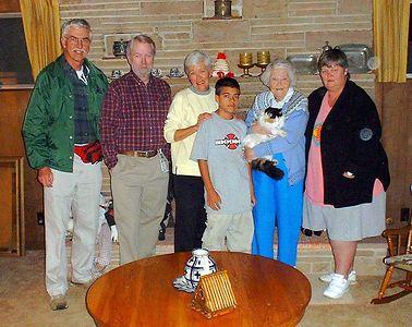 Audrey Visit 2001 06