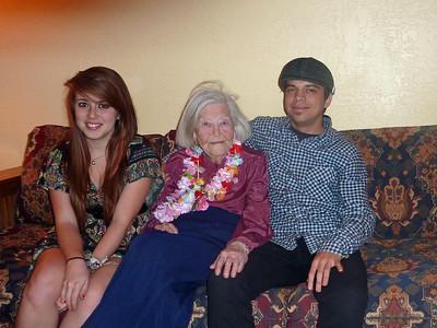 Lily, Grandma, Nate
