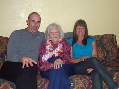 Donny, Grandma, Maren
