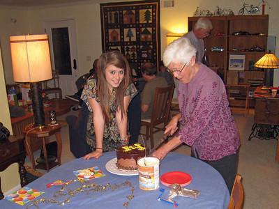 Lily and Granda Kristi