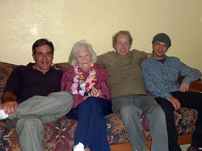Eric, Grandma, Jon, Nate