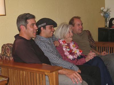 Eric, Nate, Grandma, Jon