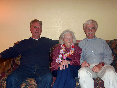 Loel(Bob's son), Lillian, Bob (Kris' Husband)