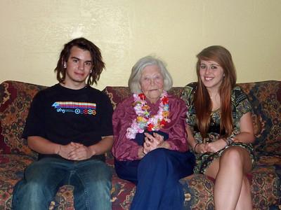 Paul, Grandma, Lily