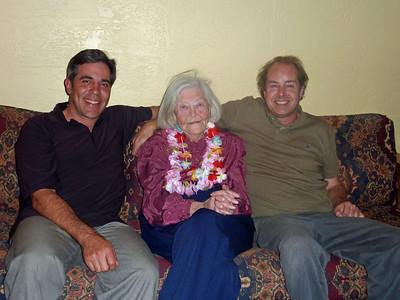 Eric, Grandma, Jon