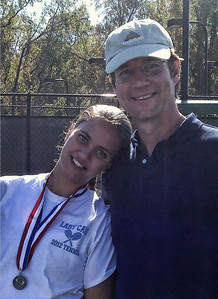 Anna and Lonny Tennis Closeup