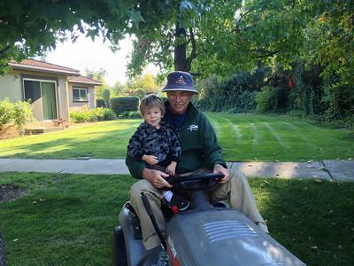 Bear and Bob Tractor 2012 1