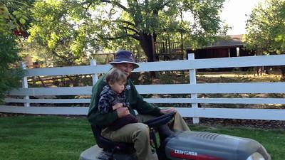 Bear and Bob Tractor 2012 2