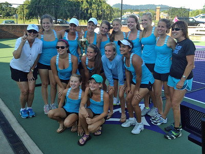 Anna's team wins Furman tennis tournament