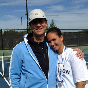 Proud Dad with Anna at state championship