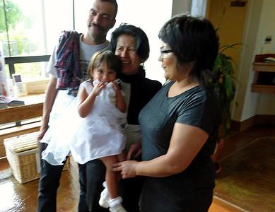 Nate, Catori, Grandma Helen, Stephanie