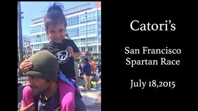 Catori SF Spartan Race July 18, 2015