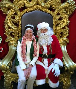 Kris and Santa