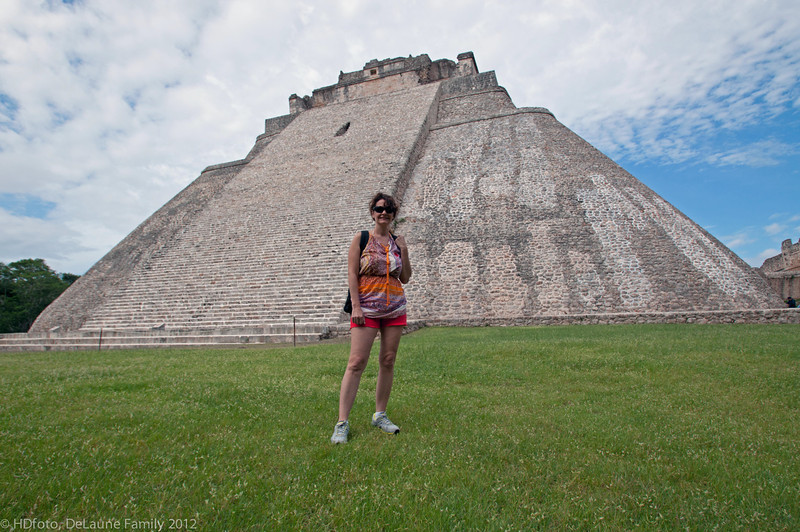 Oct. 2012,  Carnival Elation Cruise,  Progreso,  Mexico,  Uxmal Mayan Ruins