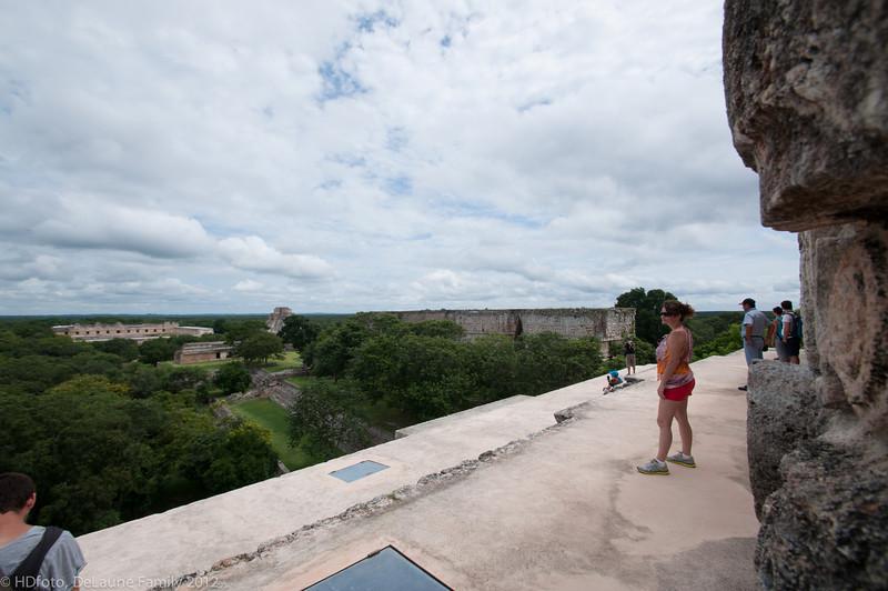Oct. 2012,  Carnival Elation Cruise,  Progreso,  Mexico,  Uxmal Mayan Ruins