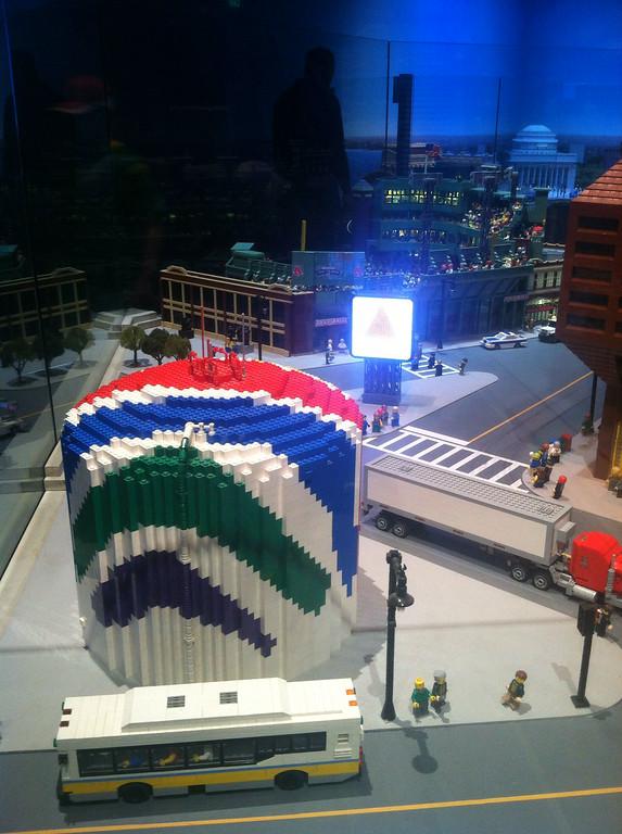 LegoLand Boston - douging