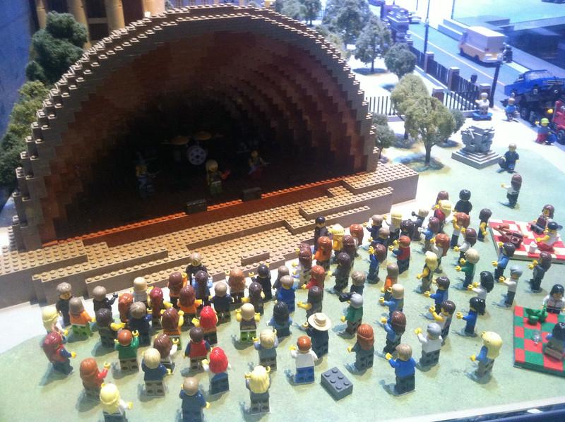 Hatch Shell, Legoland Boston