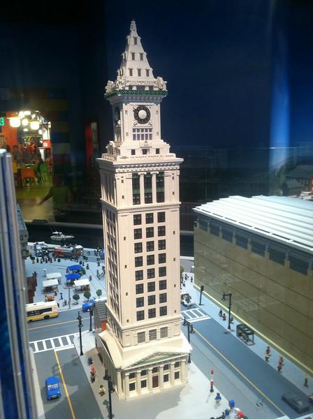 Customs House, Legoland Boston