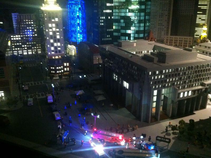 City Hall Plaza, Legoland Boston