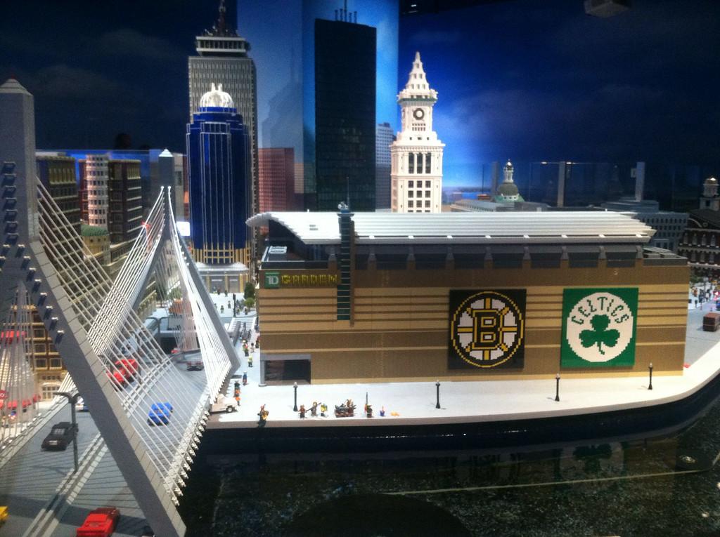 Boston Garden, Legoland Boston