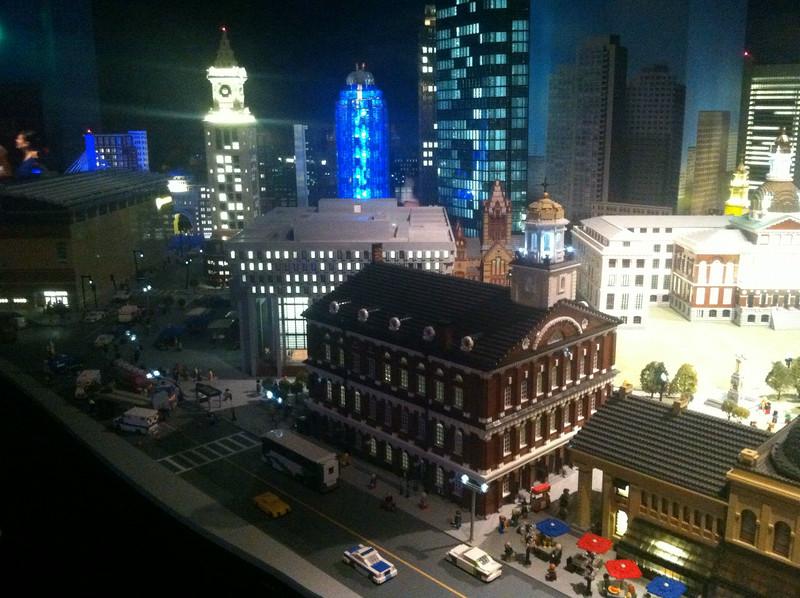 Faneuil Hall, Legoland Boston