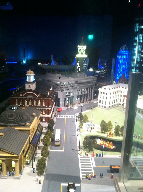 Faneuil Hall and Tremont St, Legoland Boston