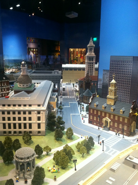 Current and Old State Houses, Legoland Boston