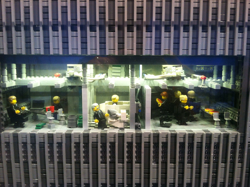 Office workers, Legoland Boston