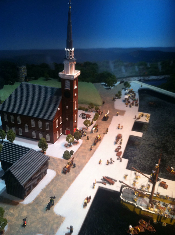 Old North Church and Paul Revere's House, Legoland Boston