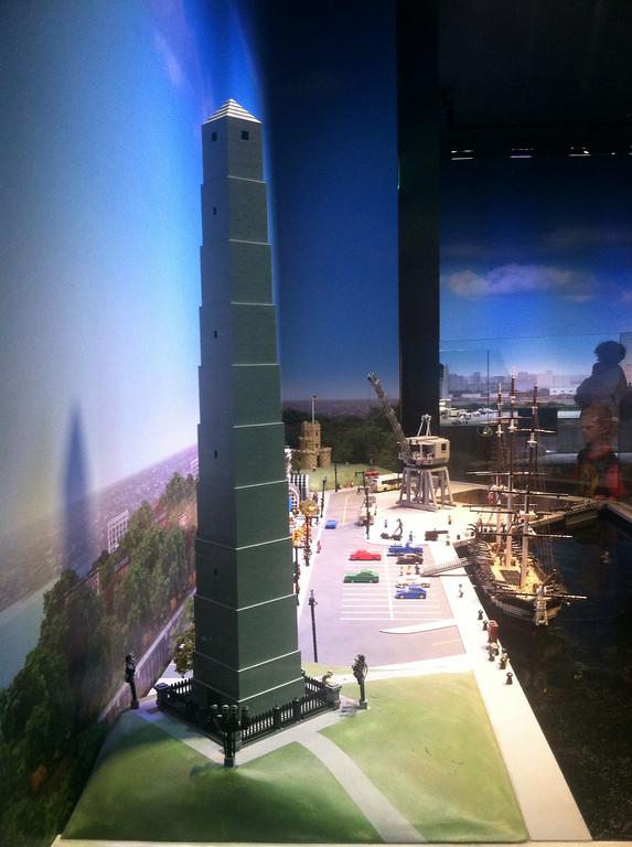 Bunker Hill Monument, Legoland Boston