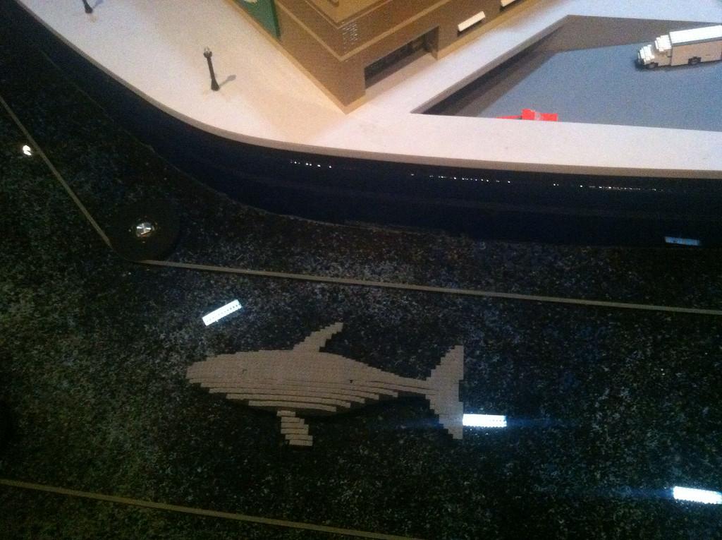 Humpback Whale, Legoland Boston