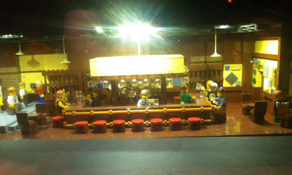 Cheers, Legoland Boston
