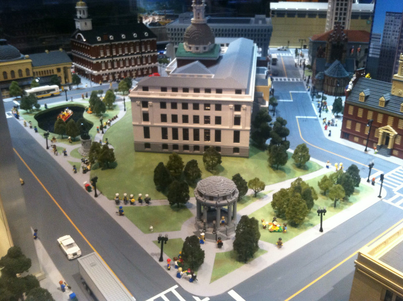 Boston Common and State House, Legoland Boston