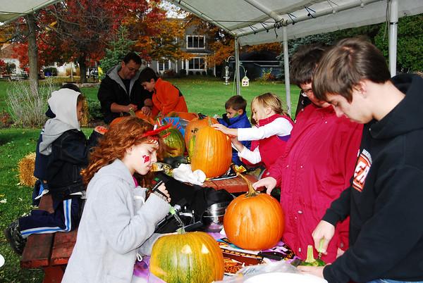Pumpkin Carving - 2009