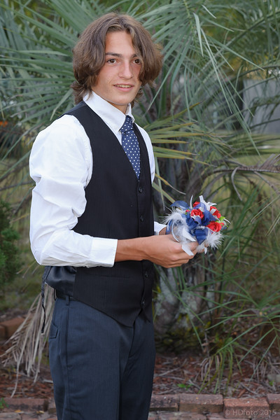 That is a beautiful corsage  He has good taste in girls and flowers. Patton Blocker