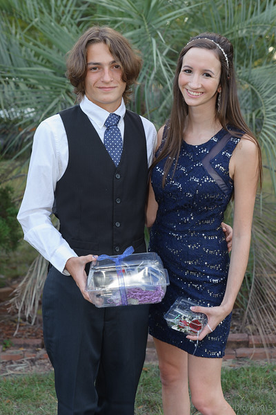 Emily and her date, Patton Blocker (or as Harold calls him, (Little Clapton)