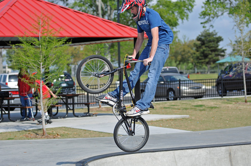 BREC BMX Bike & Skate Park, March 2011