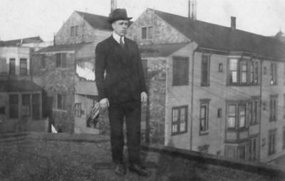 """Alphonsus A. (""""Al"""") Finan (Vincent and Loretta's brother), Dec 1920"""